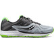 saucony Ride 10 Running Shoes Men grey/black/slime